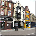 ST3088 : Cambrian Road side of the Greyhound pub, Newport by Jaggery