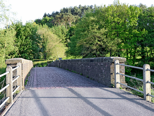 Weetman's Bridge south of Little Haywood in Staffordshire
