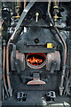 NT5234 : On the footplate of LMS Stanier Black Five locomotive 44871 by Walter Baxter