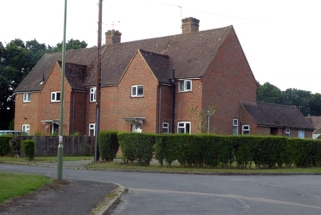 Houses on West Green, Yateley