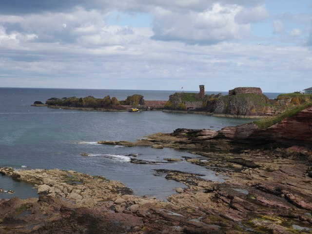 The Mouth of Dunbar Harbour