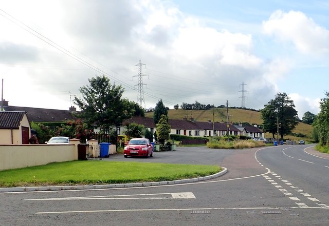 Iveagh Terrace on the A29 (Dundalk Road)