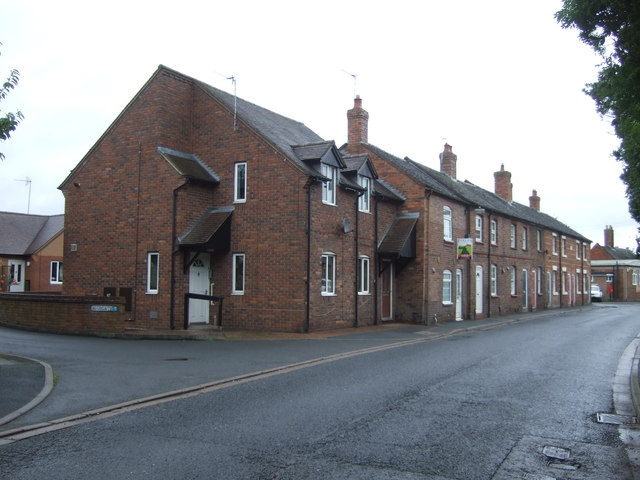 Houses on Aston Street, Shifnal