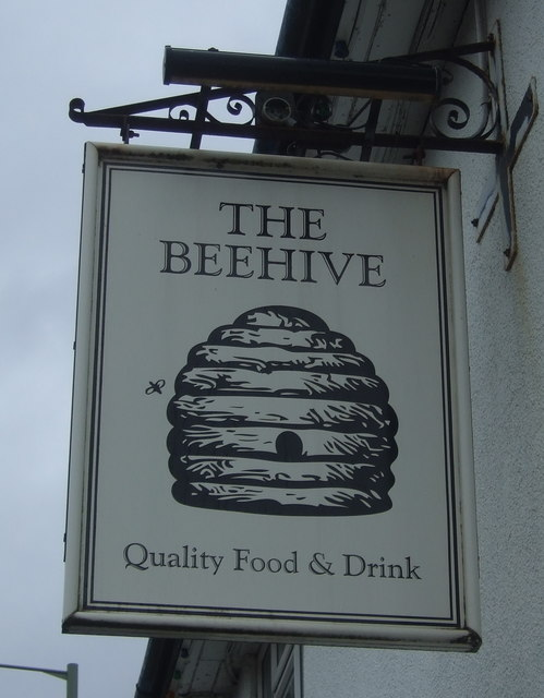 Sign for the Beehive, Shifnal