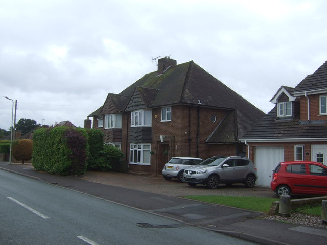 Houses on Curriers Lane, Shifnal
