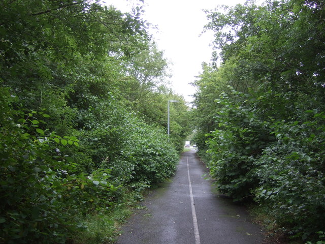Cycle path, Donnigton