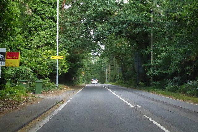 A321 Sandhurst Road