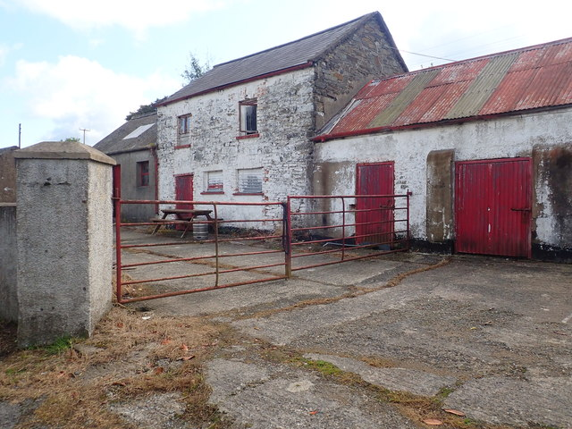 Farm buildings at Myrtle Grove, Tullyvallen