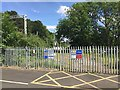 SP2477 : Network Rail compound east of Berkswell station, Balsall Common by Robin Stott