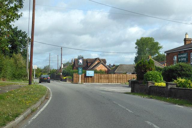 B3030 Lodge Road, Whistley Green