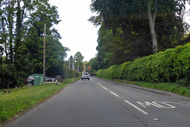 A321 towards Henley