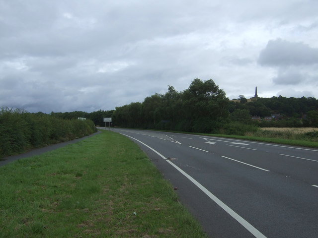 New Trench Road (A518)