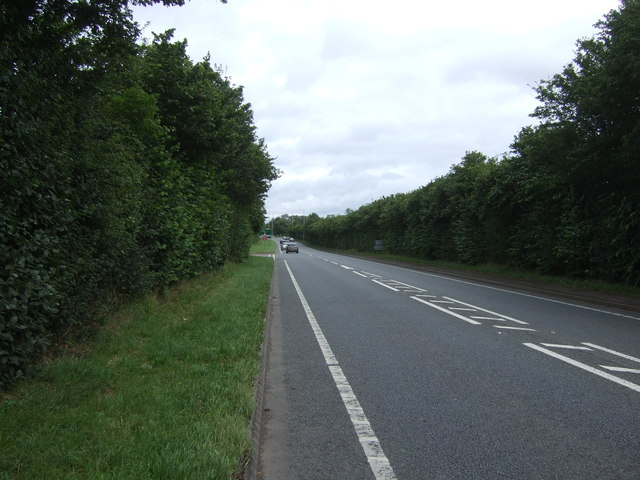 Wellington Road (A518)