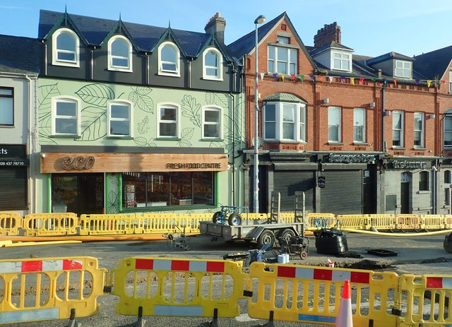 Newly rebuilt Fresh Food Centre on Castlewellan's Dublin Road