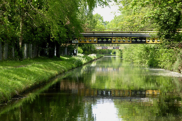 Canal near Four Ashes in Staffordshire