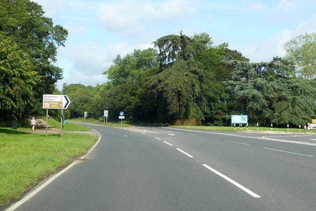 A4130 towards Wallingford