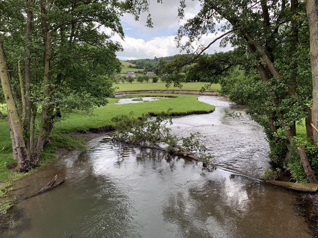 River Lugg at Discoed