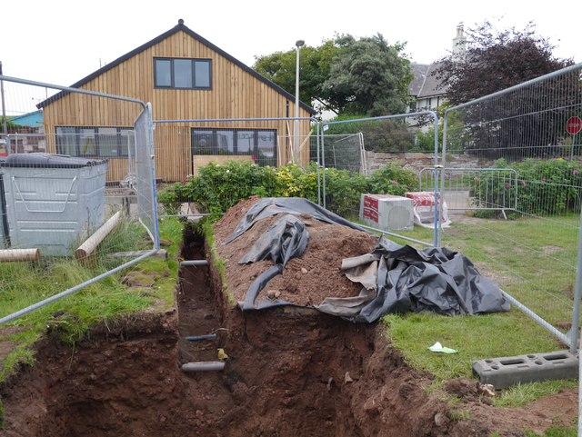Building the Belhaven Surf Centre