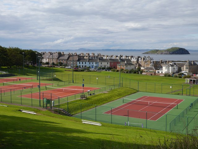 Tennis Courts and Putting Green in North Berwick