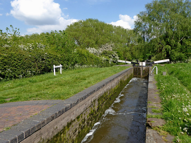 Bogg's Lock east of Gailey in Staffordshire
