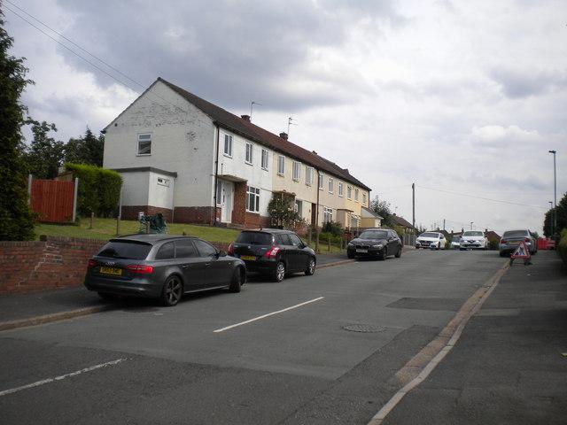North end of Brentford Drive, Mackworth