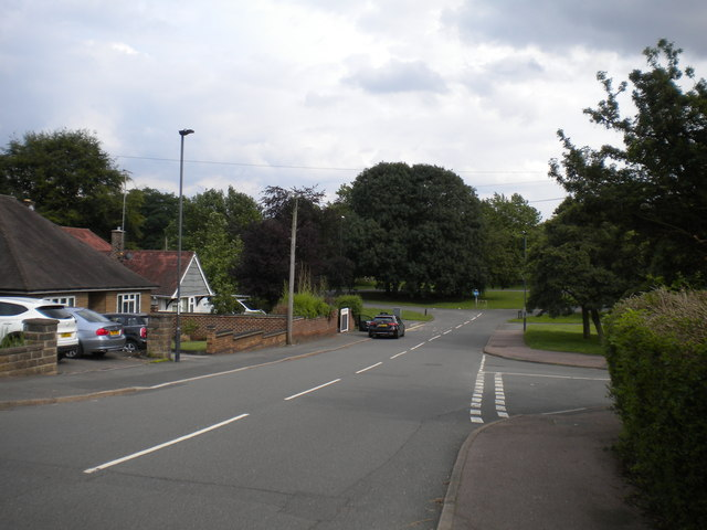East end of Holborn Drive, Mackworth