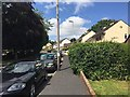 SX9073 : Uphill and north on Cockhaven Close, Bishopsteignton by Robin Stott