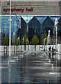 SP0686 : Centenary Square fountains, Birmingham by Chris Allen