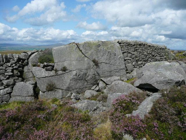 Boundary rock, Knotteranum, Slaidburn