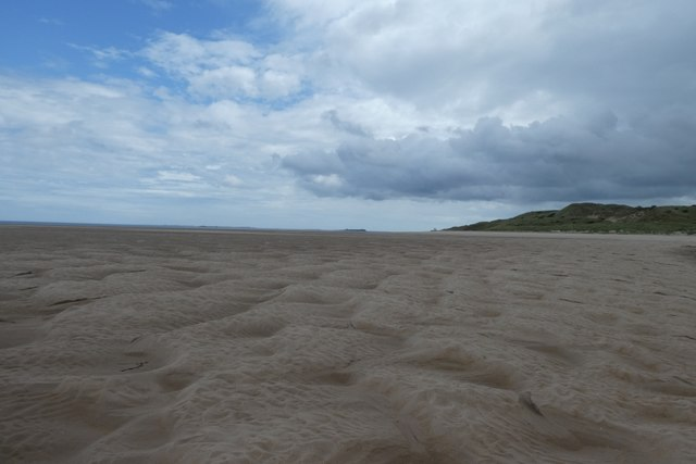 Sands on Budle Bay