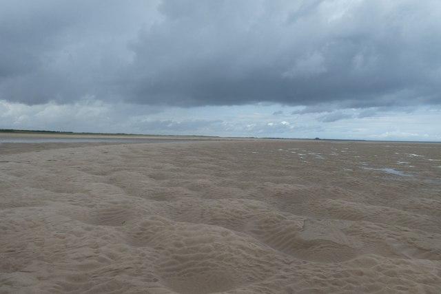 Northwest on Budle Bay