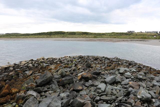 Breakwater, Port Logan