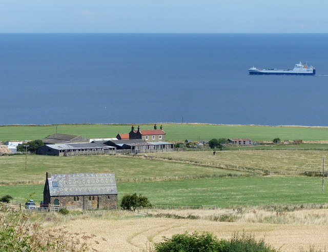 Kettleness on the North Yorkshire coast