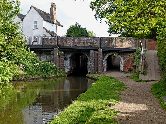 Penkridge Bridge and Lock in Staffordshire