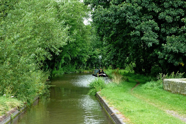 Canal near Tixall in Staffordshire