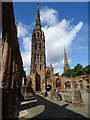 SP3378 : Within the ruins of Coventry Cathedral by Philip Halling