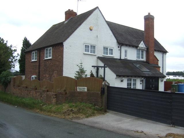 Mileford Cottage near Lapley
