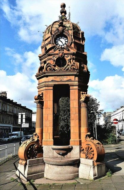 Cameron Memorial Fountain - Glasgow