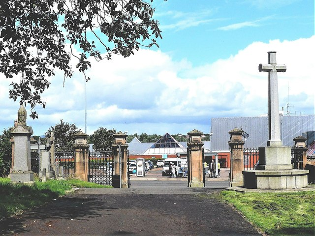Eastern Necropolis Entrance Gate - Glasgow