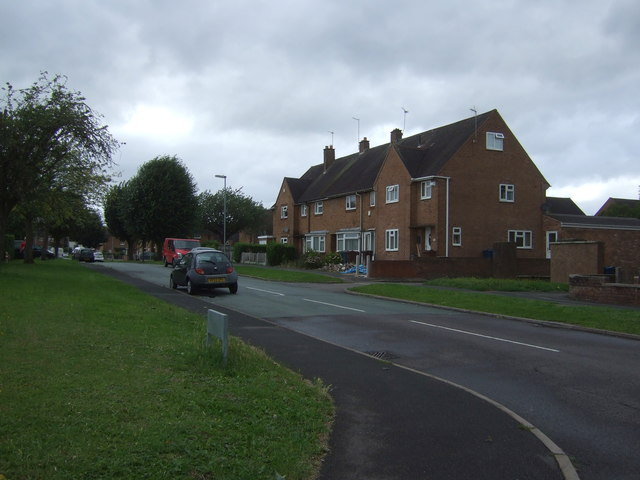 Houses on St Peter's Gardens, Rickerscote