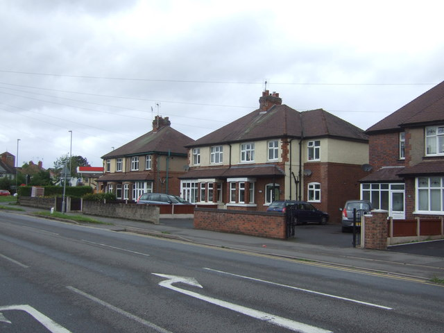 Houses on Rickerscote Road