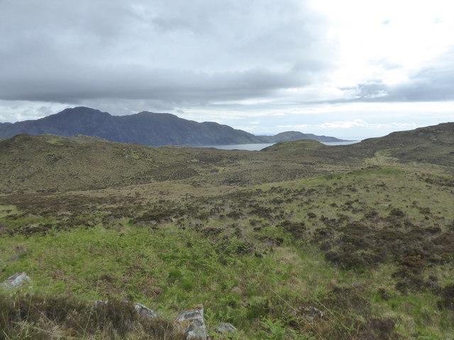 Moorland east of Sandaig, Knoydart