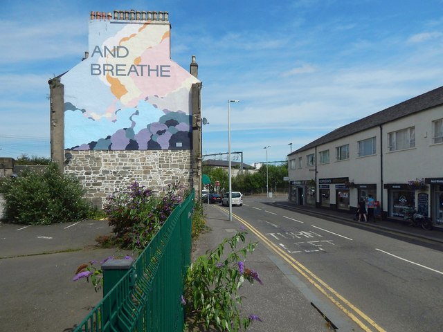 """Mural: """"And Breathe"""""""