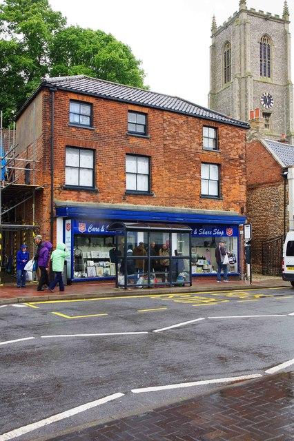 Salvation Army Care & Share Shop, 12 Oak Street, Fakenham, Norfolk