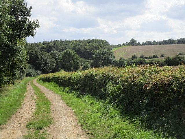 Permissive path and Fountain Hill