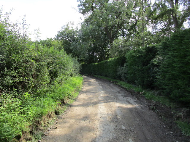 Permissive path to Witham on the Hill