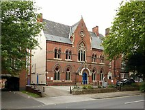 SK5640 : Nottinghamshire Deaf Society, Forest Road West, Nottingham by Alan Murray-Rust