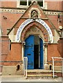 SK5640 : Nottinghamshire Deaf Society, Forest Road West, Nottingham – entrance by Alan Murray-Rust