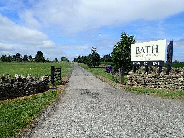 Bath Racecourse ground