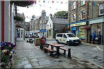 HU4741 : Commercial Street, Lerwick by Mike Pennington